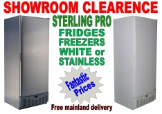 STERLING FRIDGE & FREEZER PROMOTION... - K.F.Bartlett LtdCatering equipment, refrigeration & air-conditioning